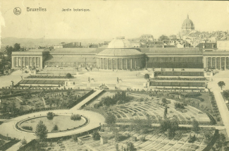 view on Botanique (1910) - collection cartes postales Fr. Van Kalken