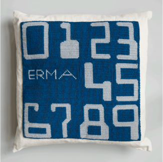 ERMA (pillow), 2015 © Chris Dreier