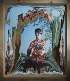 Panda Bear (c) Painting by Hugo Oliveira, Photography by Fernanda Pereira